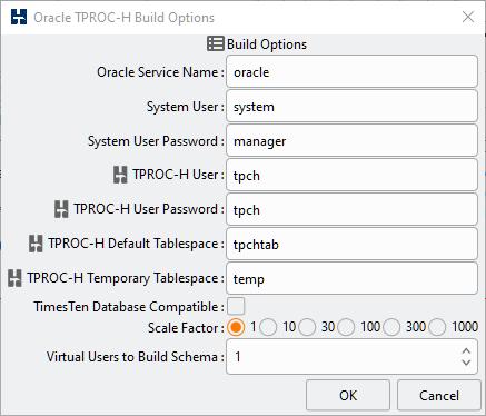 3  Configuring Schema Build Options